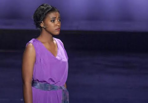 Sy Collins performing in Aida.